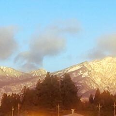 雪景色 おはようございます 今日は☀ 雪じゃなく…