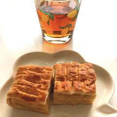 午後の紅茶 500ml 24本入 ペットボトル お茶 紅茶 キリン おいしい無糖 キリンビバレッジ(ミネラルウォーター、水)を使ったクチコミ「おやつ😋💓 山崎のレモンずっしりパイケー…」