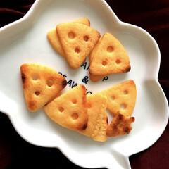 江崎グリコ 生チーズのチーザ カマンベール仕立て 1セット   グリコ(クラッカー)を使ったクチコミ「おやつにチーザを焼いてみました こんがり…」