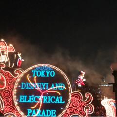 パレード/ディズニーランド/おでかけ/フォロー大歓迎 ディズニーランドのパレード😆  前もって…