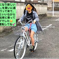 サイクルベースあさひ/リフレクター/ディズニー/自転車🚲/26インチ/春のフォト投稿キャンペーン/... サイクルベースあさひへ新しい自転車を買い…