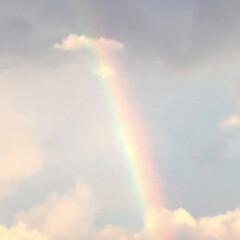 虹🌈/雨上がりの空/令和元年フォト投稿キャンペーン/令和の一枚/フォロー大歓迎/LIMIAおでかけ部/... 出先で雨が振り 空を見上げると綺麗な虹🌈…