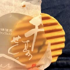 お土産/京都/千寿せんべい/フォロー大歓迎/旅行/グルメ/... 京都のお土産 千寿せんべいを頂きました😋…