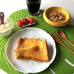 カルビー フルグラ 800g 1セット(バランス栄養、栄養調整食品)を使ったクチコミ「おはようございます😃  今朝も5時起き …」