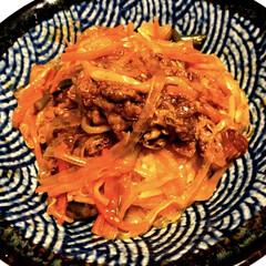 簡単/プルコギ丼/暮らし おはようございます😃 昨日の夕ご飯😋 メ…
