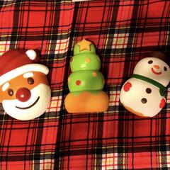 雪だるま/クリスマスツリー/サンタクロース/マザーガーデン/スクイーズ/フォロー大歓迎/... 子供購入し撮って出して マザーガーデンで…