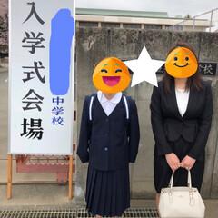 中学校/桜🌸/入学式/平成最後の一枚/春のフォト投稿キャンペーン/LIMIAおでかけ部/... 今日は、中学校の入学式でした☺️ 私達に…