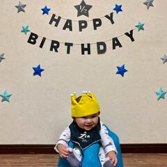 離乳食初期/離乳食/ハーフバースデーケーキ/ハーフバースデー/赤ちゃん/フォロー大歓迎/... 昨日で生後6ヶ月になり ハーフバースデー…(5枚目)