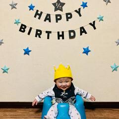 離乳食初期/離乳食/ハーフバースデーケーキ/ハーフバースデー/赤ちゃん/フォロー大歓迎/... 昨日で生後6ヶ月になり ハーフバースデー…(4枚目)