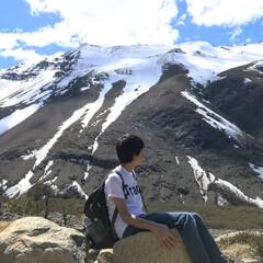 秋/風景/おでかけ/絶景/自然/山/... 【パタゴニアでトレッキングに挑戦】 南米…