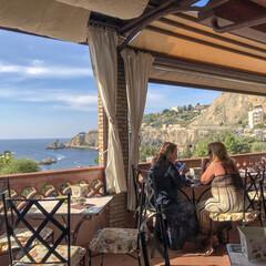 風景/おでかけ/夏/海外旅行/海外/旅行/... 【シチリアの夏】 シチリアで泊まった海辺…