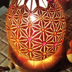 魅力的/一目惚れ/キャンプの灯りにいい/愛を込めた作品/ランプ/ひょうたんMAGIC/... ひょうたんMAGIC(1枚目)