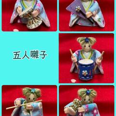 ビョーン/ひなまつり/雛人形 今年のお雛様 お人形バージョン 親王を作…(3枚目)