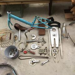 バラバラ/自転車解体/自転車リメイク