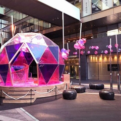 イベント/アースドーム/アートオブジェ/空間デザイン/ドーム/二子玉川ライズ/... シーズンごとに二子玉川ライズを彩り、人気…
