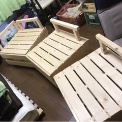 収納/椅子 /すのこ/DIY