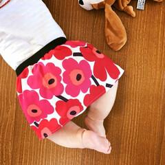 ミニウニッコ/てぬぐいワンピース/マリメッコ/ファッション/セリア/ハンドメイド ハンドメイドでスカートを作るの巻