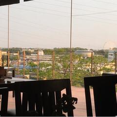 夕焼け/テラス/よし味/豊橋/二川/キッチン/... 昨日も、好天で  オープンエアにて営業し…