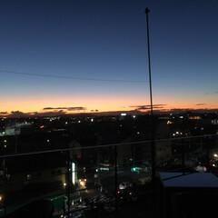 テラス/二川/豊橋/よし味/和食/グルメ/... キンと冷えた日は、    空がきれいです…
