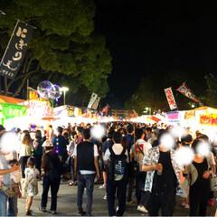 風船/チョコバナナ/祭り/おでかけ 今年は久しぶりに放生会に行ってきました✨…(7枚目)