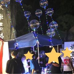 風船/チョコバナナ/祭り/おでかけ 今年は久しぶりに放生会に行ってきました✨…(6枚目)