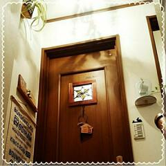 Before/塗装/リフォーム/DIY このドアを塗装しまぁす(^-^)/
