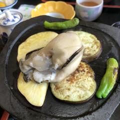 フード 能登で食べた岩牡蠣! (1枚目)