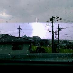 夏の空 ゲリラ豪雨‼️