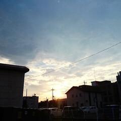 夏の空/セリア 悩みが……ぶっ飛ぶだなぁ😌✨