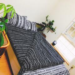 ベッドルーム 年末の掃除は先ず寝室から ベッドカバー4…