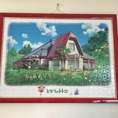 インテリア 赤い家根の家です。 トトロの〇〇家となっ…