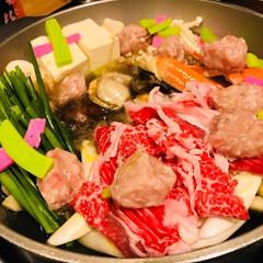 秋/おうちごはん/グルメ/フード/キッチン雑貨/鍋/... ちゃんこ鍋がめっちゃ美味しかったです! …