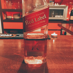 ジョニーウォーカー レッドラベル 700ml ポイント消費に(スコッチ)を使ったクチコミ「お酒紹介🍸 ジョニーウォーカー  ジョニ…」