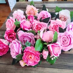 ボランティア/ピンクのコサージュ/雑貨/DIY ピンクの コサージュ 30個 作って欲し…