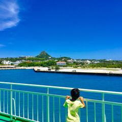 沖縄/海/おでかけ/天の川 家族で伊江島に行ってきました! 出発前日…