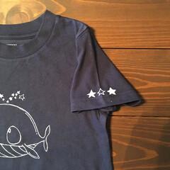 くじら/Tシャツ/こども服/らくがき/子供部屋/動物モチーフグッズ/... らくがきこどもTシャツ販売しました。 昨…