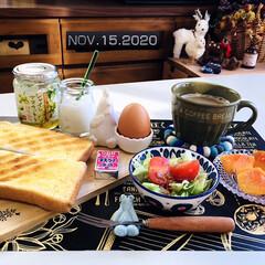 食欲の秋/至福の時間/フォロー大歓迎/リミとも部/暮らし/ハンプティダンプティ/...         11/15(日) 朝食 …