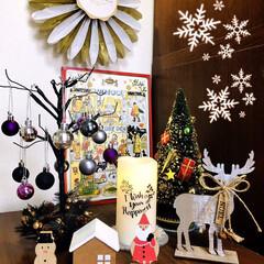 フォロー大歓迎/クリスマス雑貨/カーラ チョコカレンダー(イラスト.../カルディ/LEDツリー/100均/... 12月になったのでリビングの一角にクリス…
