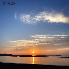 フォロー大歓迎/リミとも部/風景/日本海/海/空/...  2020.10.3(土)17:11日本…