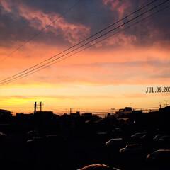 フォロー大歓迎/風景/夕焼け      2020.7.9(木) 19:…