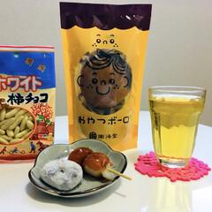 おやつ/豆大福/みたらし団子/ホワイト柿チョコ/おやつボーロ         4/1(月) おやつ  …