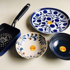 卵焼きフライパン/半額/食器/ドン・キホーテ/キッチン雑貨/暮らし  食材と冷凍食品を買いにドンキへ🚗💨 厚…