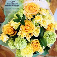 感謝/Thank you/フォロー大歓迎/ありがとう/花束/結婚記念日        2020.5.22(金) …