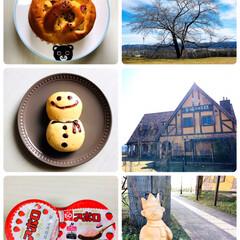 風景/至福の時間/さつまいもパン/雪だるまパン/パン屋さん/ドライブ/...         20202.13(木) …