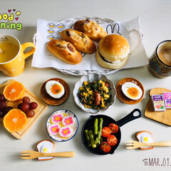 フォロー大歓迎/パン/セブンイレブン/至福の時間/おうちごはん/朝食/...         3/1(日) 朝食  セ…