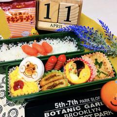 日清食品 チキンラーメンMini 10685 3食パック 1セット(インスタントラーメン)を使ったクチコミ「        4/11(木) お弁当 …」