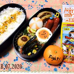日清 マグうどん 94g×12個(インスタント、カップうどん)を使ったクチコミ「       2/7(金) 主人弁当🍱 …」