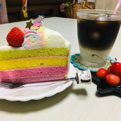 娘の誕生日/ケーキ/コージーコーナー/フォロー大歓迎/至福のひととき/LIMIAスイーツ愛好会/...              7/7(日) …(2枚目)