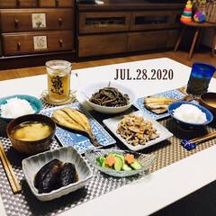 フォロー大歓迎/新鮮野菜/ランチョンマット/キッチン雑貨/アテーナ/暮らし/...         7/28(火) 夕食  …