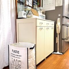 フォロー大歓迎/キャスター付きダストボックス/リミとも部/暮らし/100均/ゴミ箱/...        うちのゴミ箱 10年以上前…